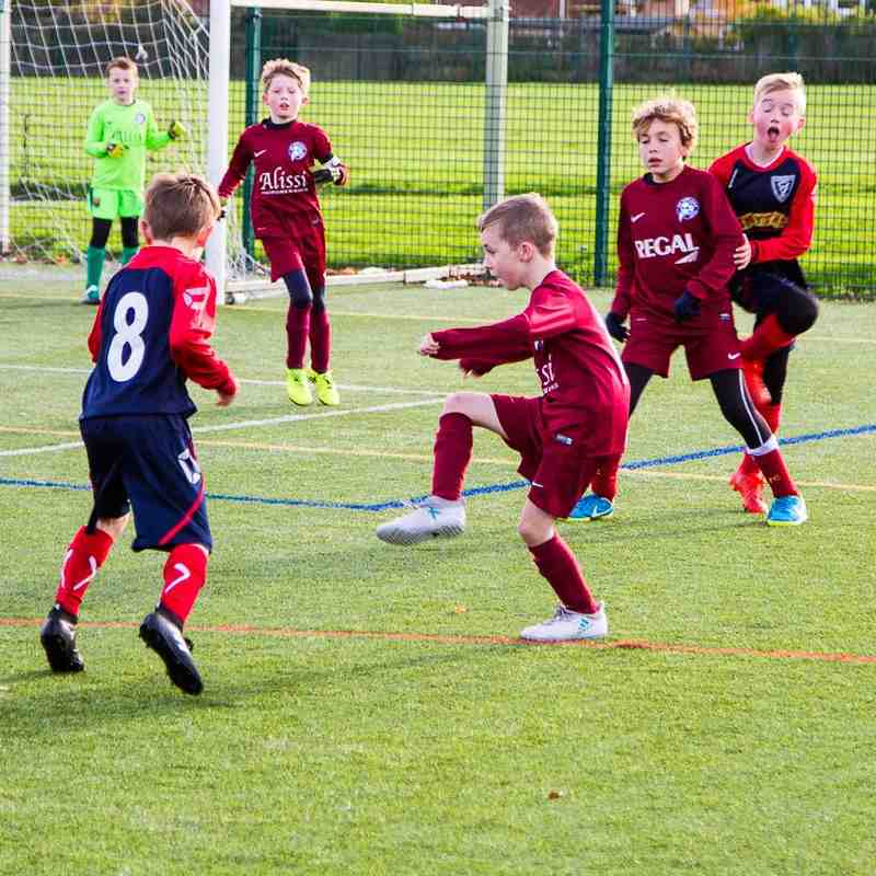 Under 9's Meteors Action Nov 4th 2017