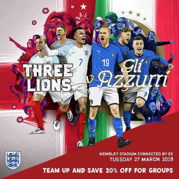 It's not too late to get your cheap England tickets via Oldland
