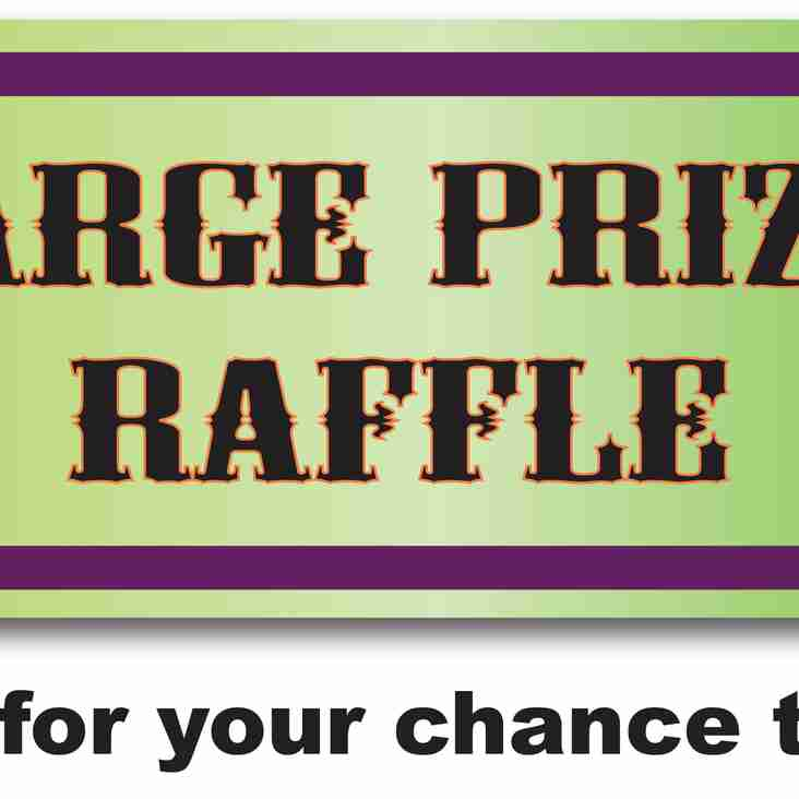 Support the club - a raffle with a difference