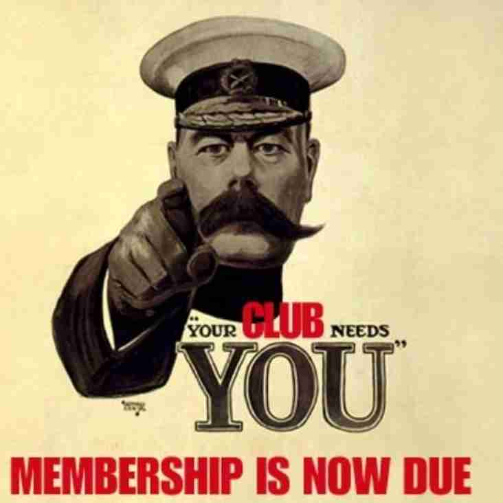 Annual Club Membership Renewal