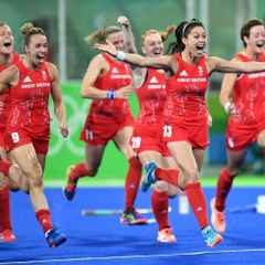 GB Olympic Women win GOLD