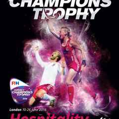 Great Britain's Olympic hockey stars at Lee Valley in June
