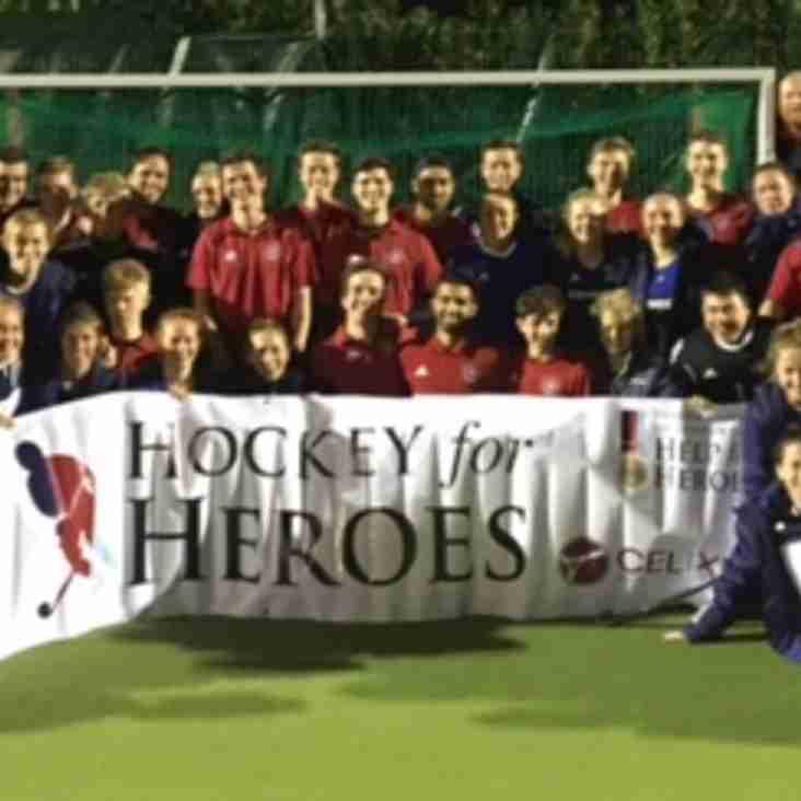 Great evening - GB Ladies v Marlow HC Men's Performance Squad