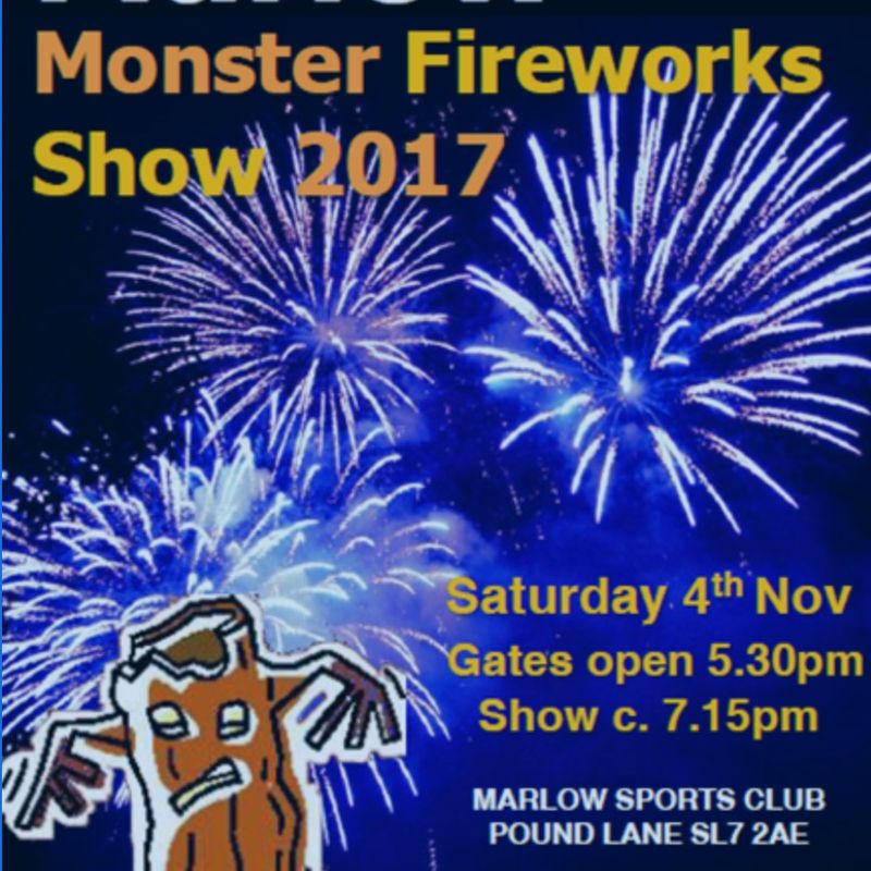 Monster MSC Fireworks Saturday 4th November