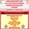 Marlow EOS senior teams event - Sat 21st April