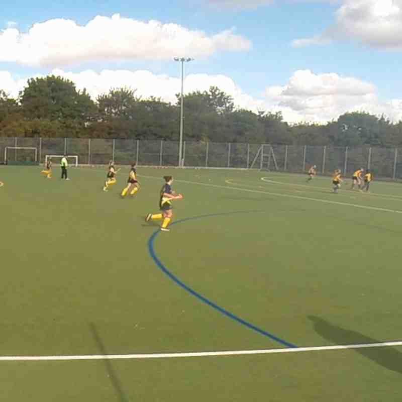 Sarah Johns scores winning goal