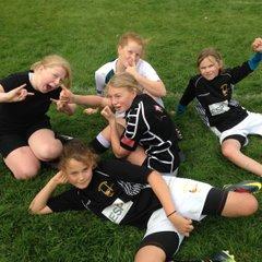 First Under girls 13's team