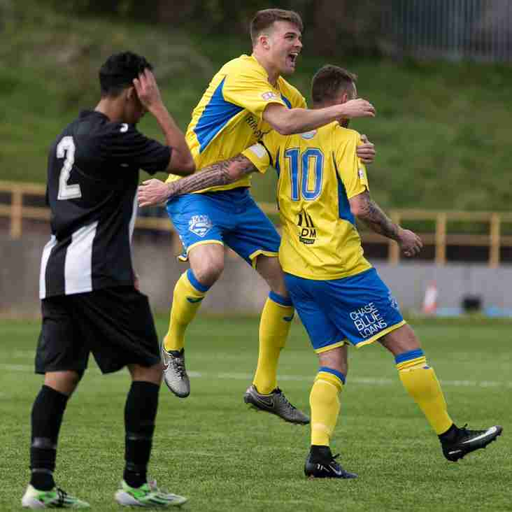 Town go goal crazy in Jenner victory