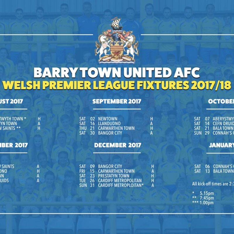 2017-18 WPL fixtures confirmed