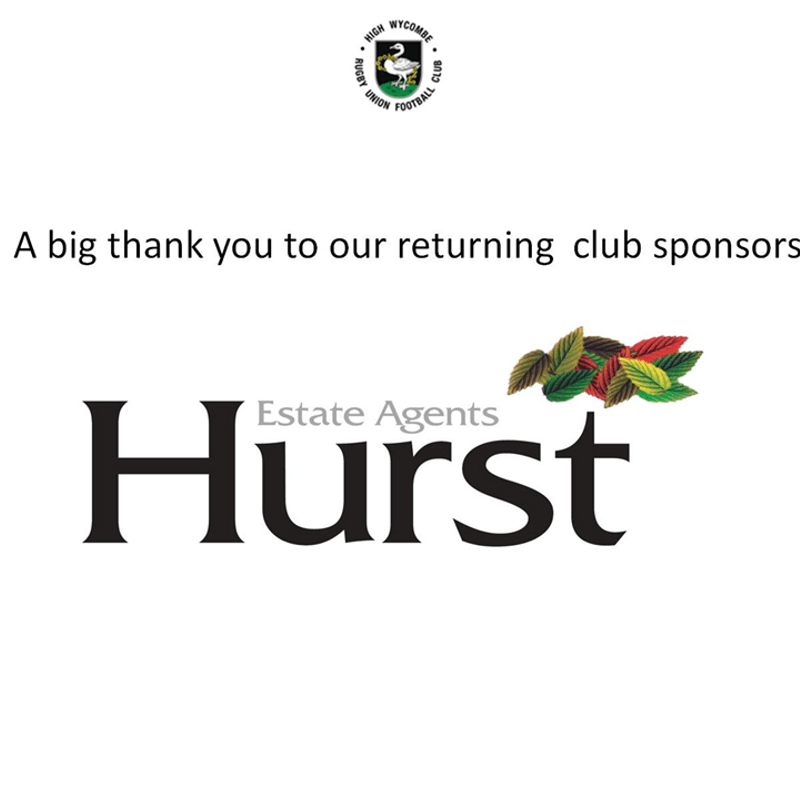 Hurst Estate Agents Sponsorship