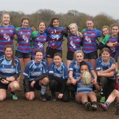 U18 Baby Belles v Newbury