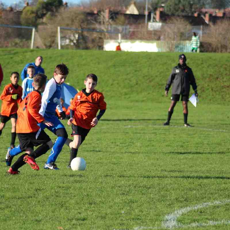 Under 11 Eagles v Fry Club U11 Colts - 30th November 2014