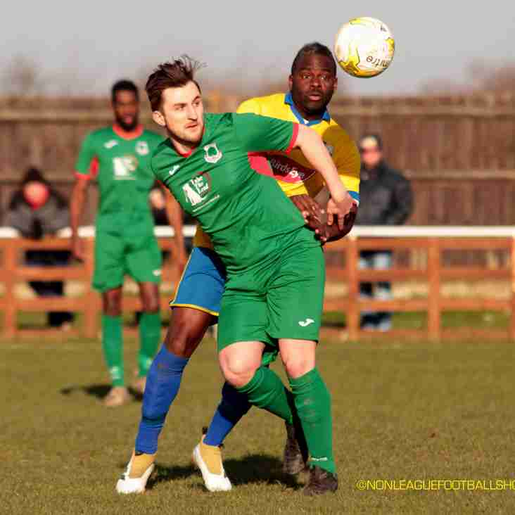 Picture from the recent 1st team game at Bedfont & Feltham