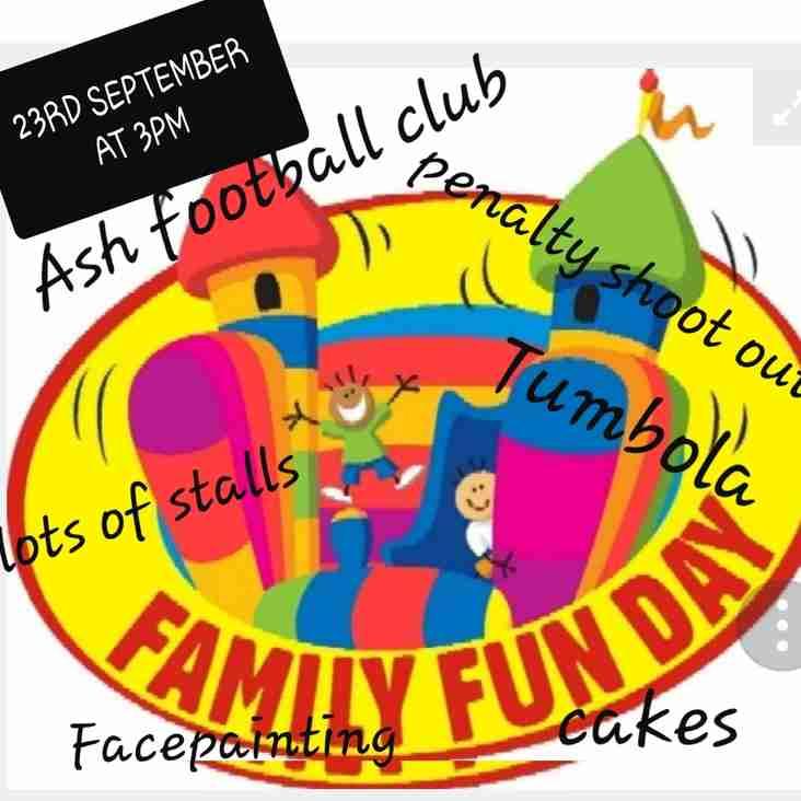 Family Fun Day at Ash United