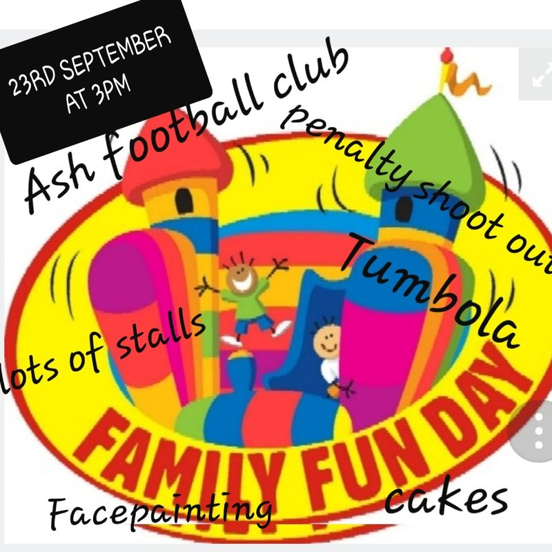 Family Fun Day at Ash United