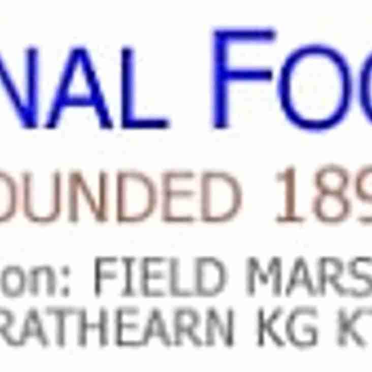 Update : 1st Round Aldershot FA Saturday Senior Cup