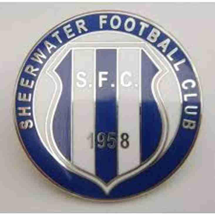 Next Reserve Team match Sat 27 Oct @Sheerwater