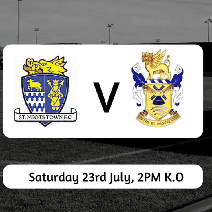 Match Preview: St Neots Town v The Millers
