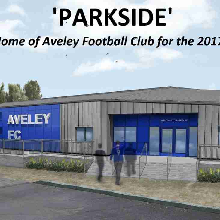 Aveley Football Club Name New Ground!