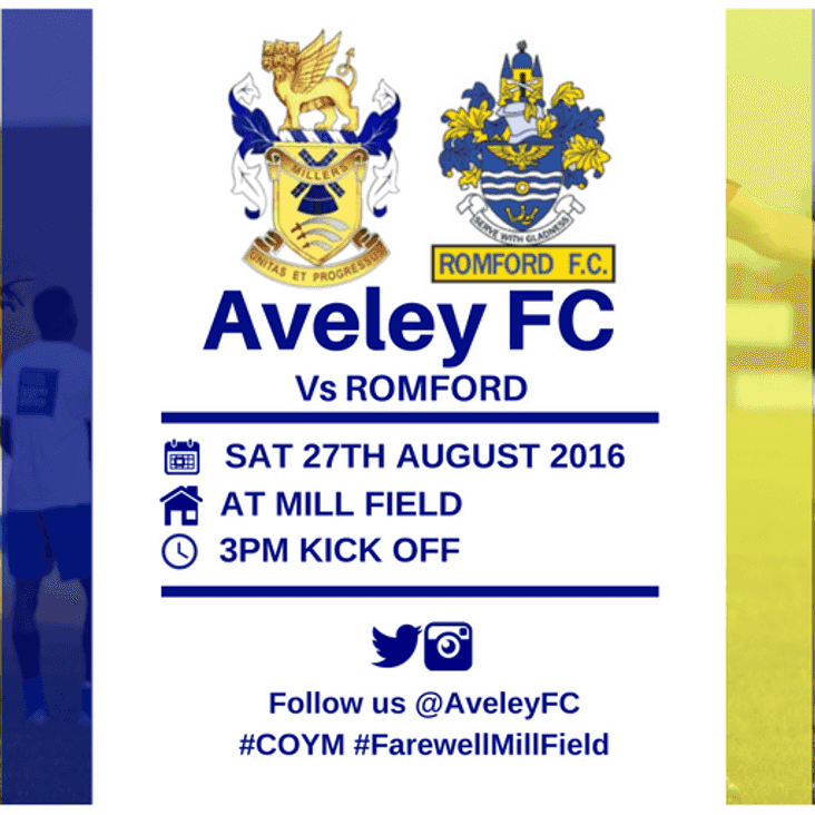 MATCH PREVIEW | Aveley v Romford