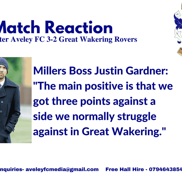 Match Reaction | Gaffer on 3-2 victory over Great Wakering