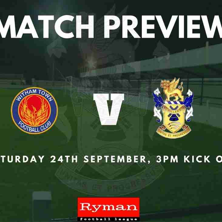 Match Preview: Witham Town Vs The Millers