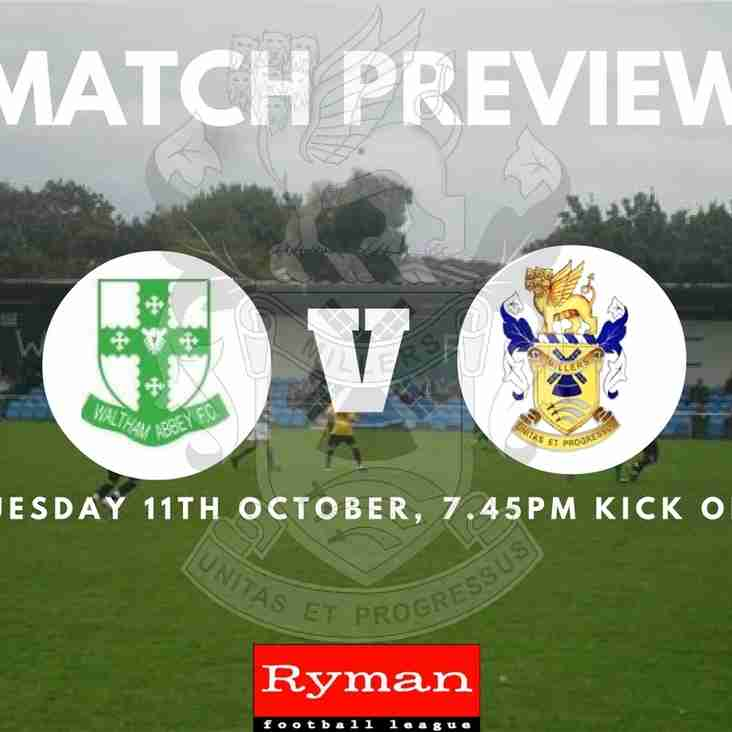Match Preview | Waltham Abbey Vs The Millers