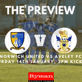 Match Preview | Norwich United v Aveley