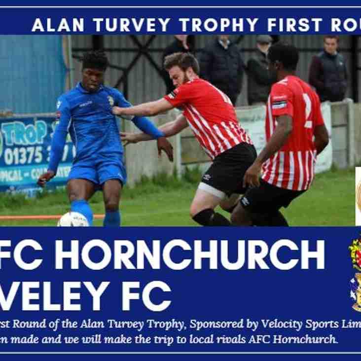 Alan Turvey Trophy First Round Draw