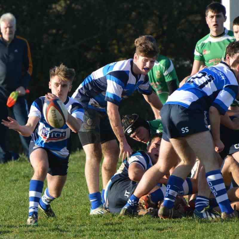 DMP U18s v Wharfedale National Colts Cup  23rd Nov 2014
