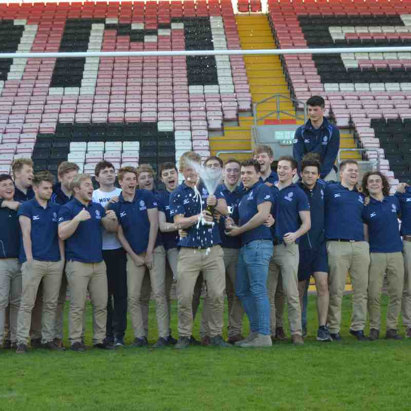 DMP U18s v Westoe County Cup Final 26th April 2015