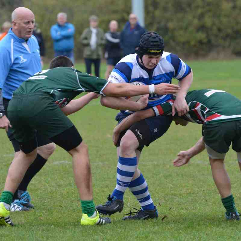 DMP U18s v West Hartlepool  National Colts Cup 18th Oct 2015