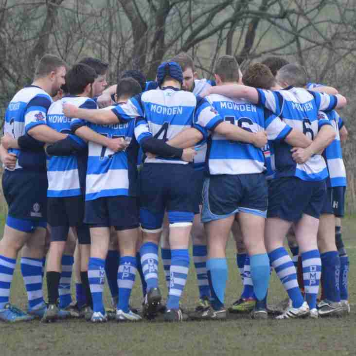 3rd XV through to County Cup final