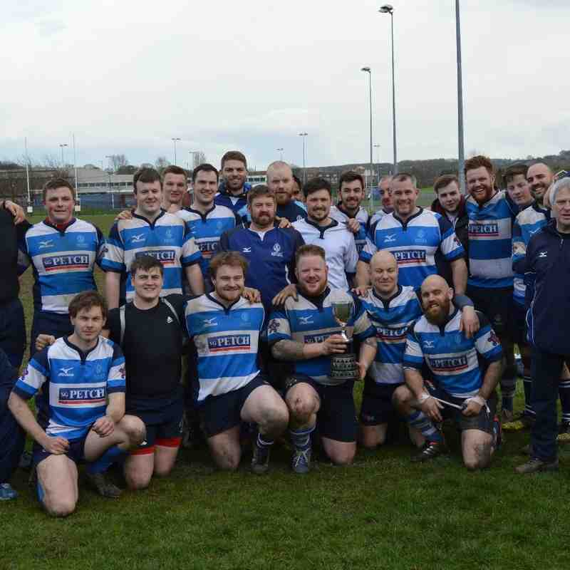Mowden Park 3rd XV v Sunderland 2nds County Cup Final 9th April 2016