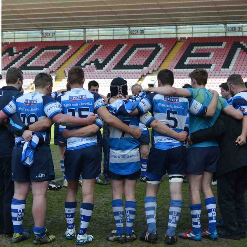 Mowden Park 3rd XV v Stockton TVL Cup Final14th May 2016