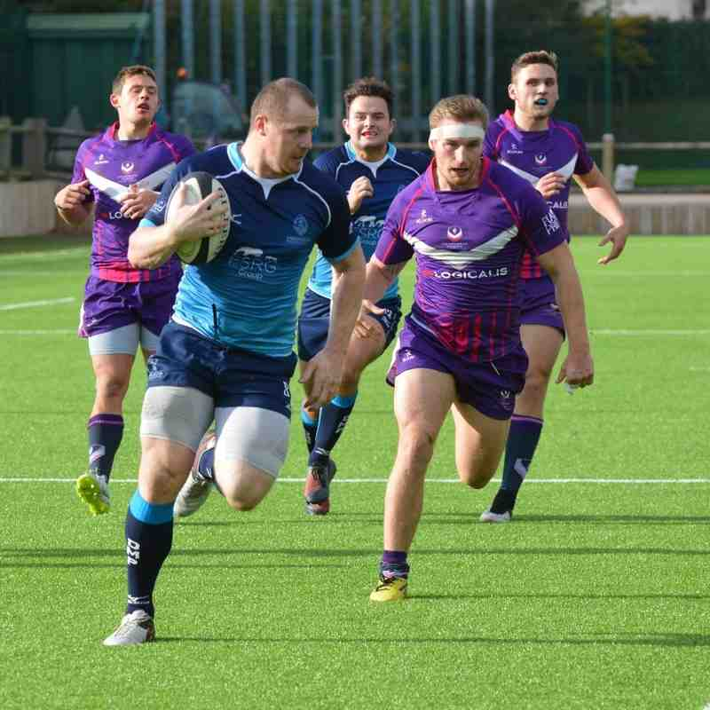 Mowden Park v Loughborough Students Away 22nd Oct 2016