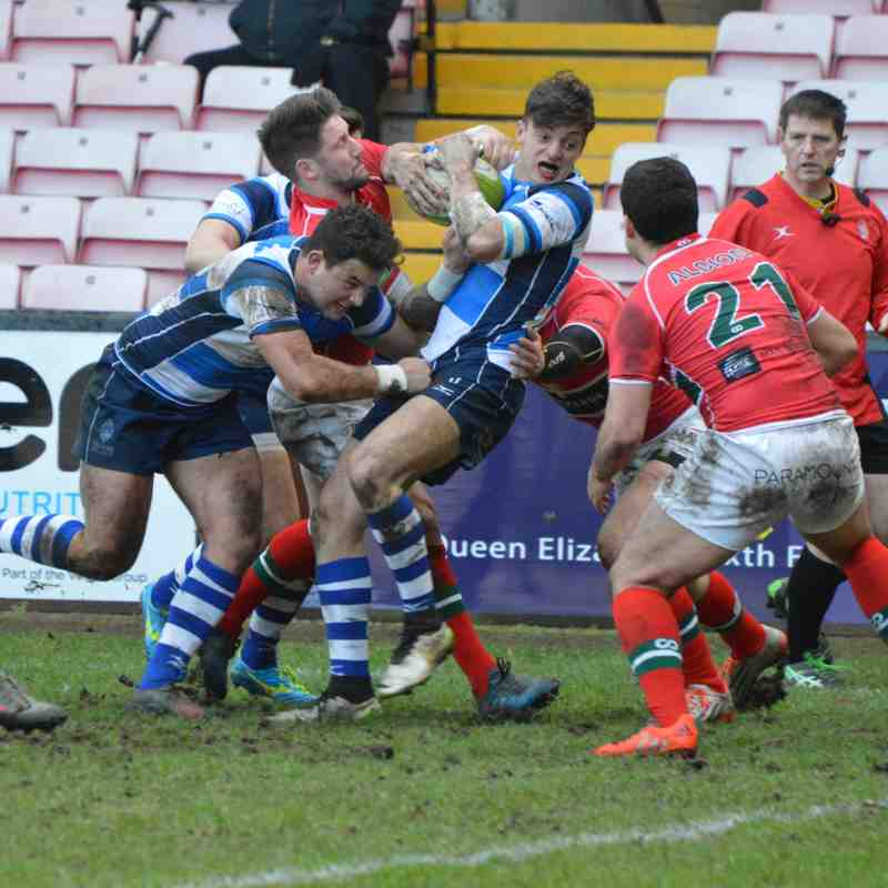 Mowden Park v Plymouth Albion 4th Feb 2017