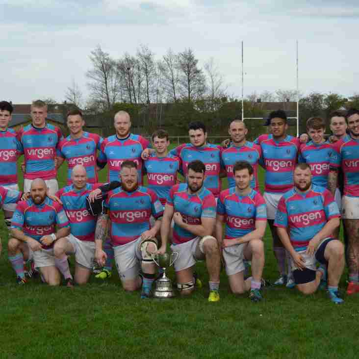 DMPRFC 2nds win Durham County Cup!