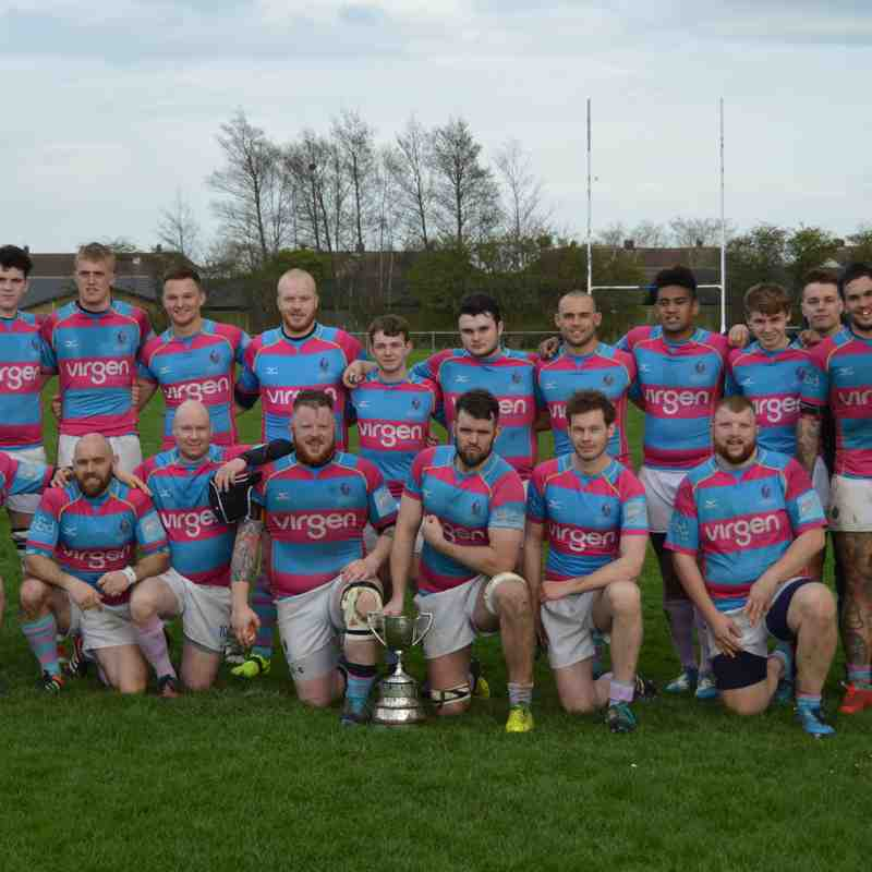 Mowden Park 2nd XV v Billingham 2nds County Cup Final 1st April 2017
