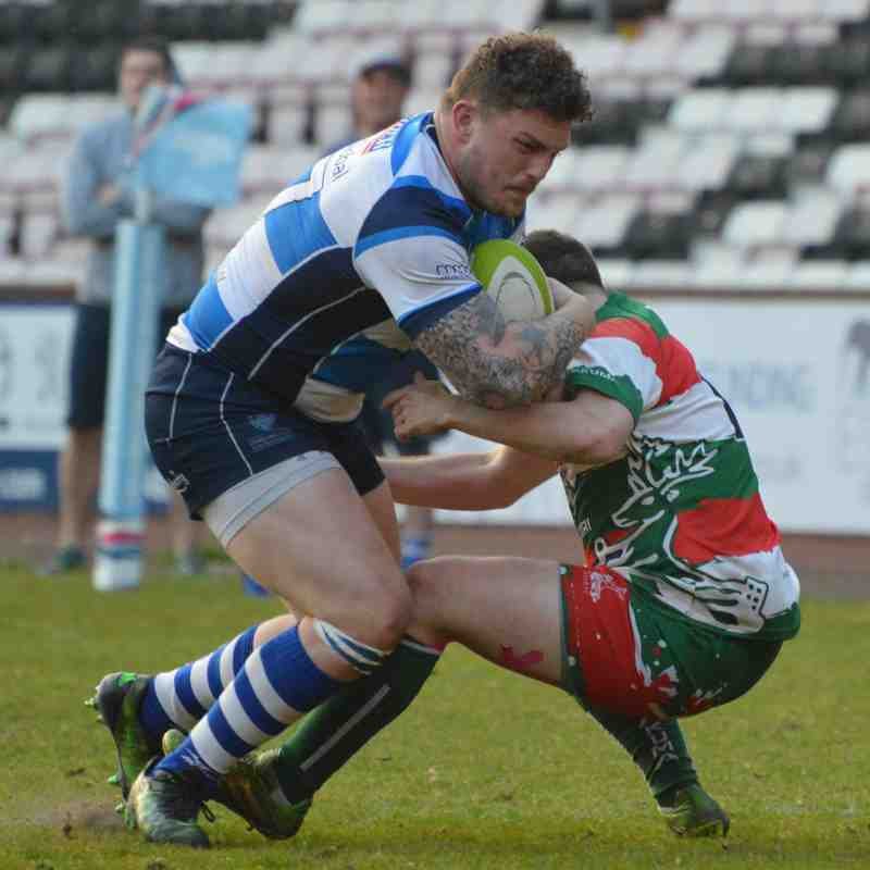 Mowden Park v West Hartlepool County Cup Final 11th May 2017