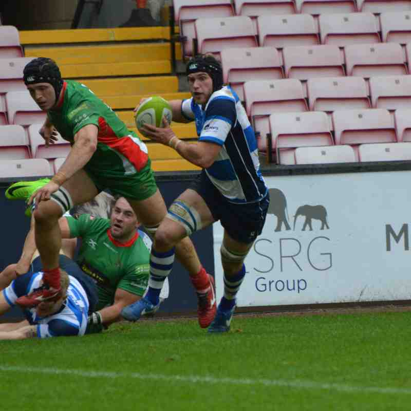 Mowden Park v Plymouth Albion 28th Oct 2017