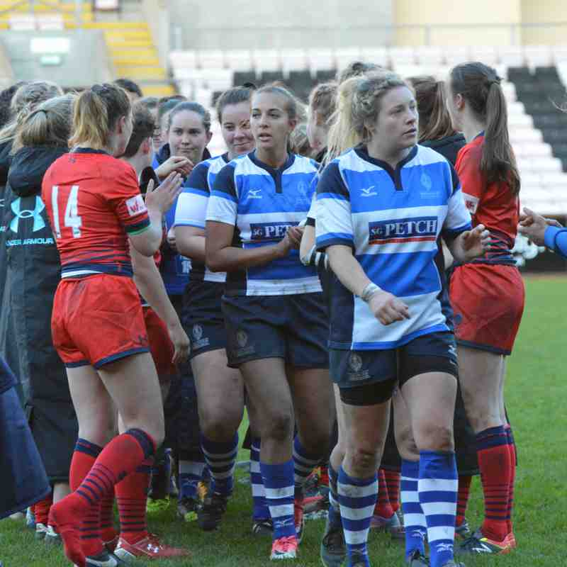 Mowden Park Sharks v Worcester Valkyries 4th Nov 2017