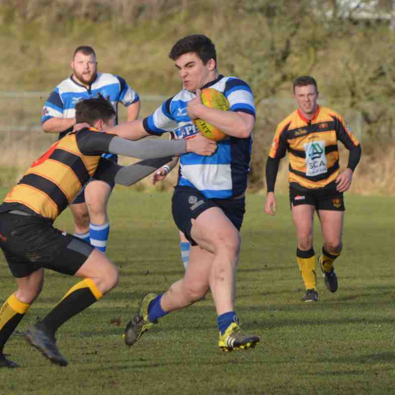 Mowden Park 3rds v Consett 6th Jan 2018