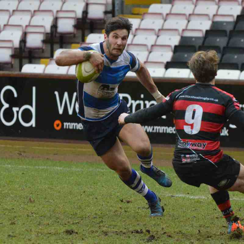 Mowden Park v Blackheath 10th Feb 2018