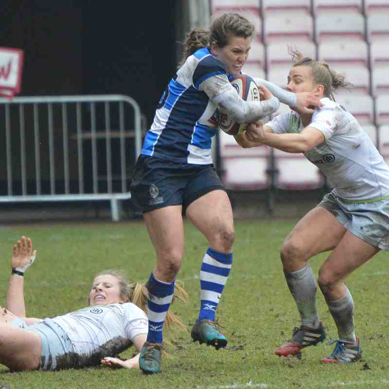 Mowden Park Sharks v Saracens 10th March 2018