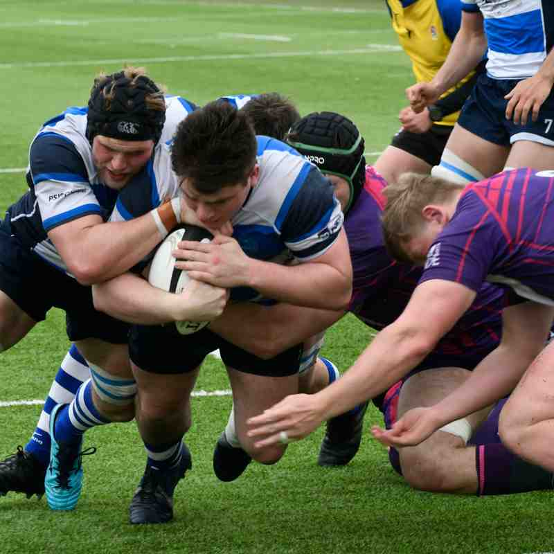 Mowden Park v Loughborough Students Away 28th April 2018