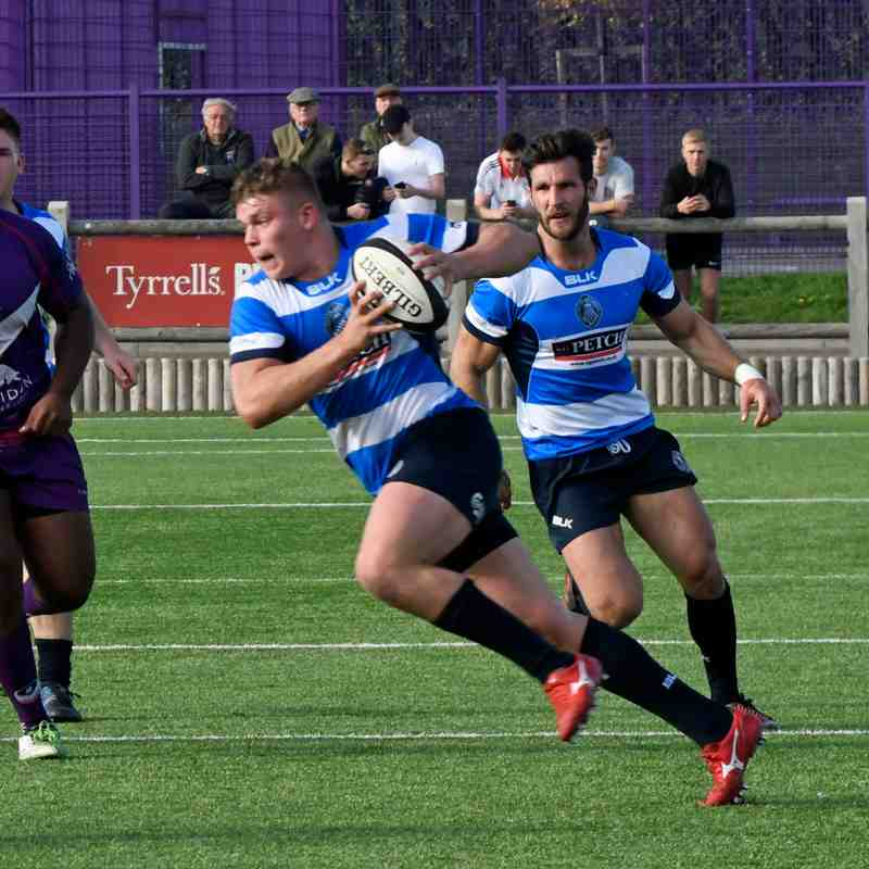 Mowden Park v Loughborough Students Away 20th Oct 2018