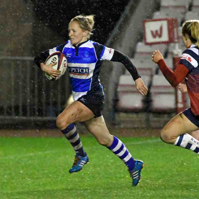 Mowden Park Sharks v Bristol Bears 15th Dec 2018