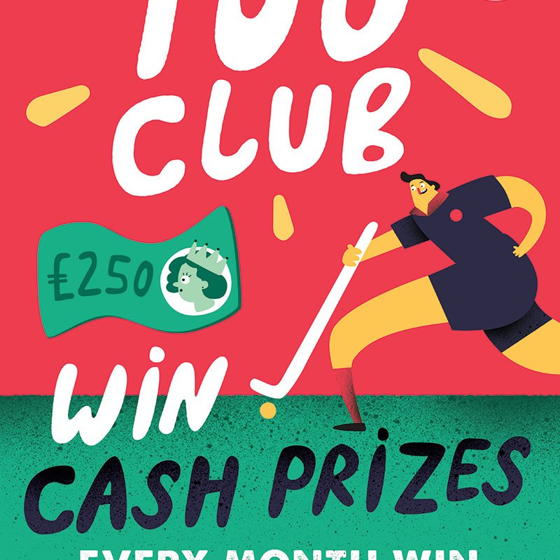 100Club latest winners !!!.. you have to be in it to win it !!