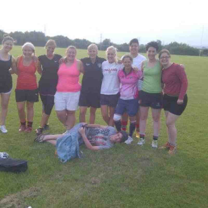Old Newts ladies team